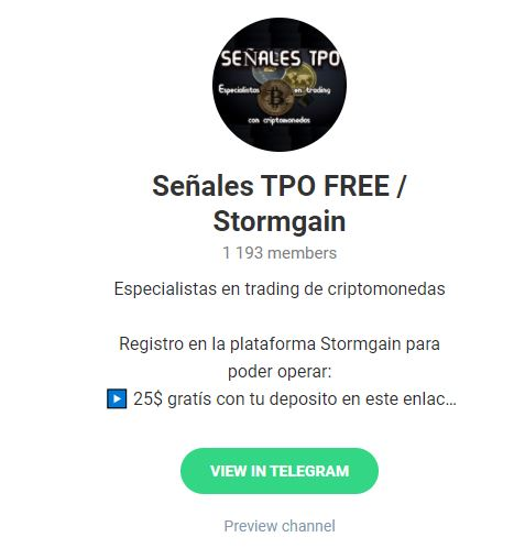 canal telegram criptomonedas melhores robôs forex gratuitos 2021